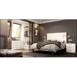 Dormitorio matrimonio composición ref-49