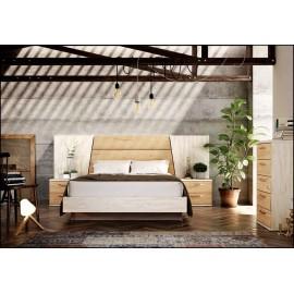 Dormitorio matrimonio composición ref-50