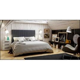 Dormitorio matrimonio composición ref-52