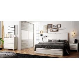 Dormitorio matrimonio composición ref-53
