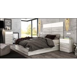 Dormitorio matrimonio composición ref-55