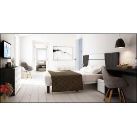 Dormitorio matrimonio composición ref-56
