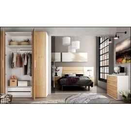 Dormitorio matrimonio composición ref-58