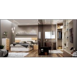 Dormitorio matrimonio composición ref-60