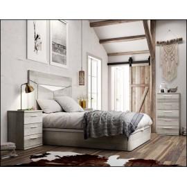 Dormitorio matrimonio composición ref-61