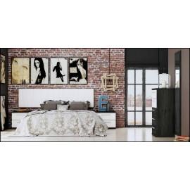 Dormitorio matrimonio composición ref-64