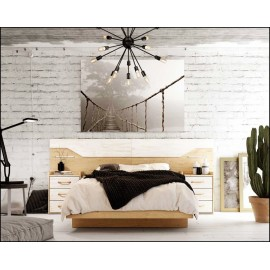 Dormitorio matrimonio composición ref-66