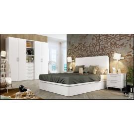 Dormitorio matrimonio composición ref-67