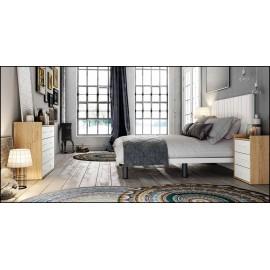 Dormitorio matrimonio composición ref-71