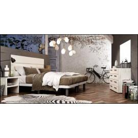 Dormitorio matrimonio composición ref-79