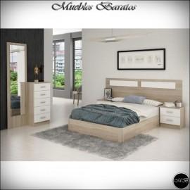 Dormitorio matrimonio completo ref-51
