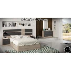 Dormitorio matrimonio completo ref-76