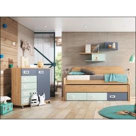 Dormitorio juvenil JUNIOR COMPOSICIÓN-01