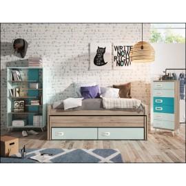Dormitorio juvenil JUNIOR COMPOSICIÓN-10