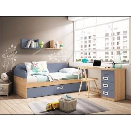 Dormitorio juvenil JUNIOR COMPOSICIÓN-17