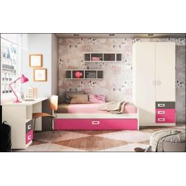 Dormitorio juvenil JUNIOR COMPOSICIÓN-19