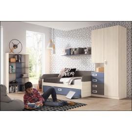 Dormitorio juvenil JUNIOR COMPOSICIÓN-02