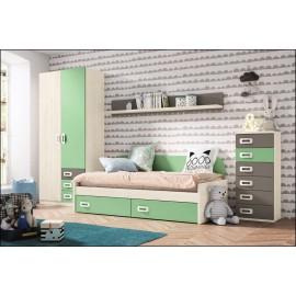 Dormitorio juvenil JUNIOR COMPOSICIÓN-20