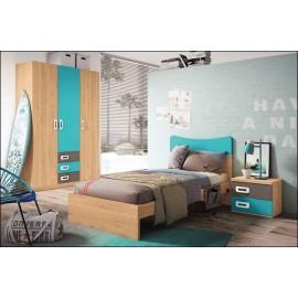 Dormitorio juvenil JUNIOR COMPOSICIÓN-24