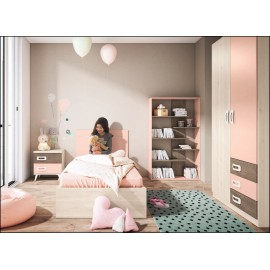 Dormitorio juvenil JUNIOR COMPOSICIÓN-25