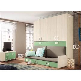 Dormitorio juvenil JUNIOR COMPOSICIÓN-27
