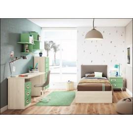 Dormitorio juvenil JUNIOR COMPOSICIÓN-03
