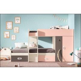 Dormitorio juvenil JUNIOR COMPOSICIÓN-32