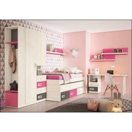 Dormitorio juvenil JUNIOR COMPOSICIÓN-06