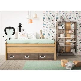 Dormitorio juvenil JUNIOR COMPOSICIÓN-07