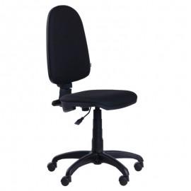 Silla oficina PRE50, brazos, tejido A1 negro