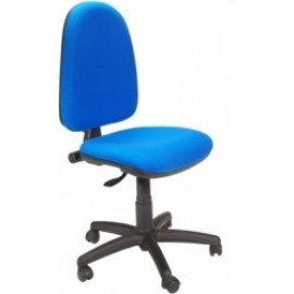 Silla oficina PRE50, tejido A20 azul