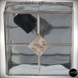 Plafon estilo rustico ref-07