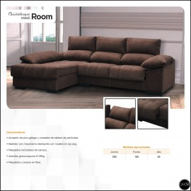 Chaiselongue en medida 290 cms ref-29