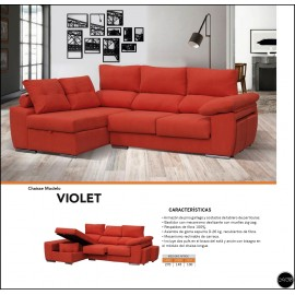 Chaiselongue en medida 270 cms ref-43