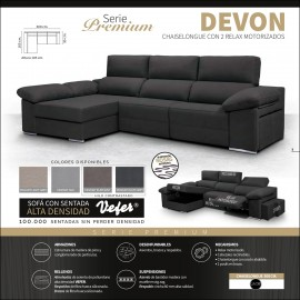 Sofa chaiselongue alta gama 300 cms ref-01