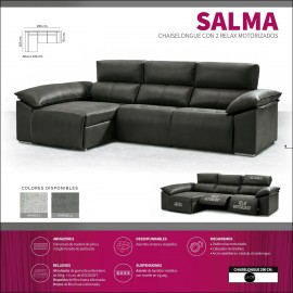 Sofa chaiselongue alta gama 290 cms ref-03