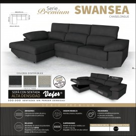 Sofa chaiselongue alta gama 270 y 300 cms ref-05