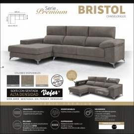Sofa chaiselongue alta gama 285 cms ref-06