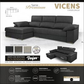 Sofa chaiselongue alta gama 280 cms ref-07