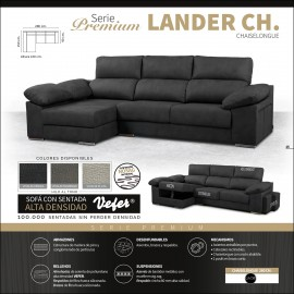 Sofa chaiselongue alta gama 280 cms ref-09