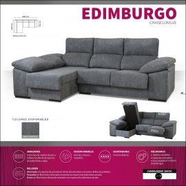 Sofa chaiselongue alta gama 260 cms ref-13