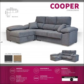 Sofa chaiselongue alta gama 255 cms ref-14