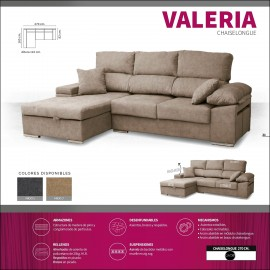 Sofa chaiselongue alta gama 270 cms ref-15