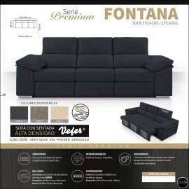 Sofas cama alta gama 268 y 298 cms ref-17