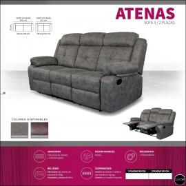 Sofas relax 2 o 3 plazas alta gama ref-10