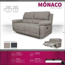 Sofas relax 2 o 3 plazas alta gama ref-11