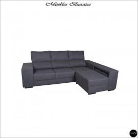 Sofa con chaise longue 255 cms ref-11