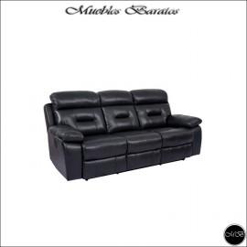Sofa Relax Tres Plazas Electrico ref-02