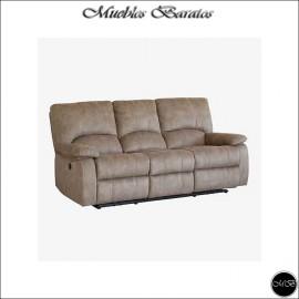 Sofa Relax Tres Plazas Electrico ref-16