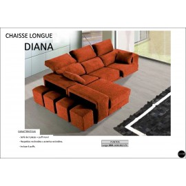 Chaiselongue liquidacion 260 cms ref-56